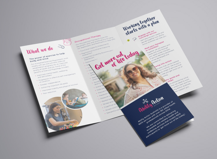 Brochure Marketing Branding Graphic Design