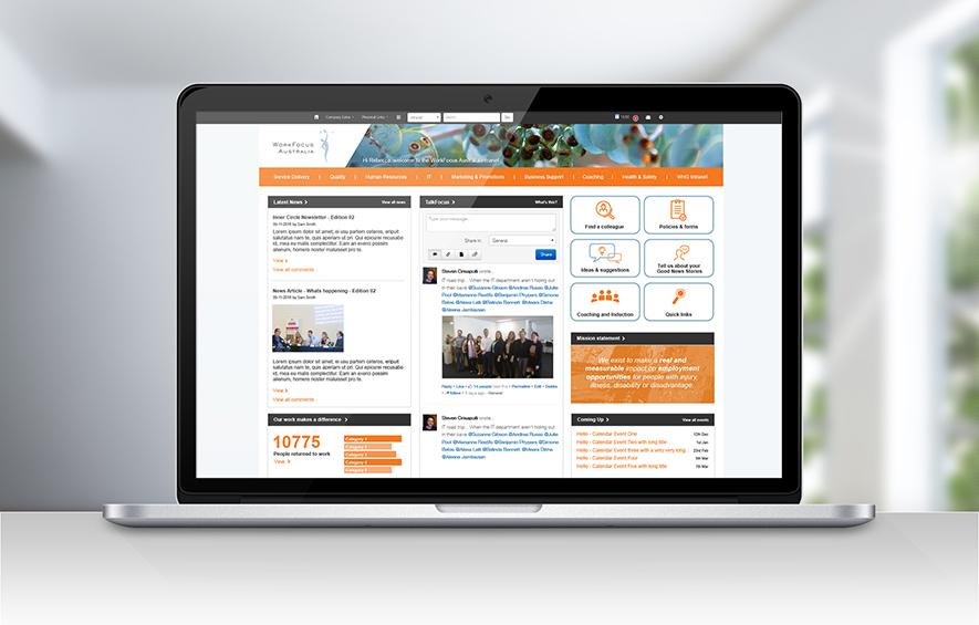Digital Marketing Agency WFA Intranet