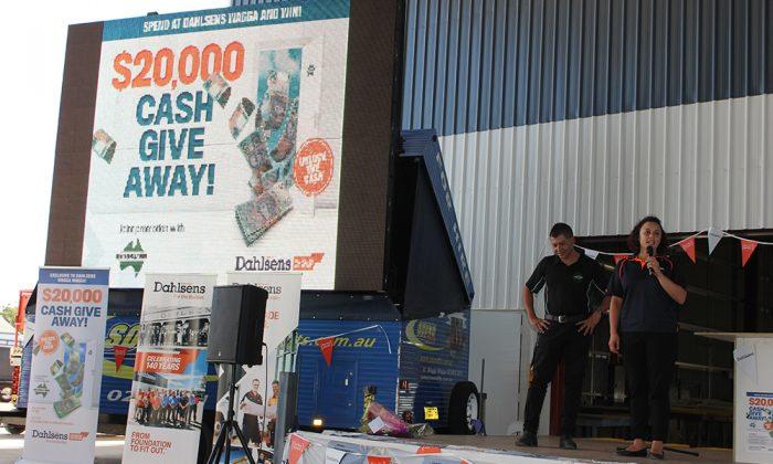 MOO Marketing Agency Melbourne Dahlsens promotional campaign event
