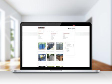 Draffin WordPress website page