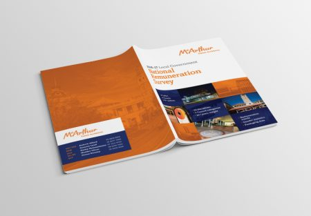 graphic design annual report cover