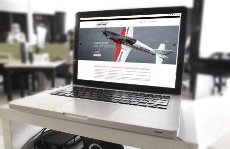 Wordpress Website Corvus Aero