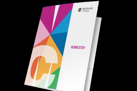 Example of Monash University branded portfolio folders, designed by MOO