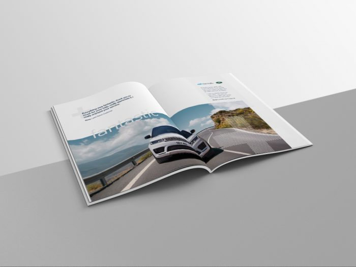 Open brochure for Jaguar Land/Rover